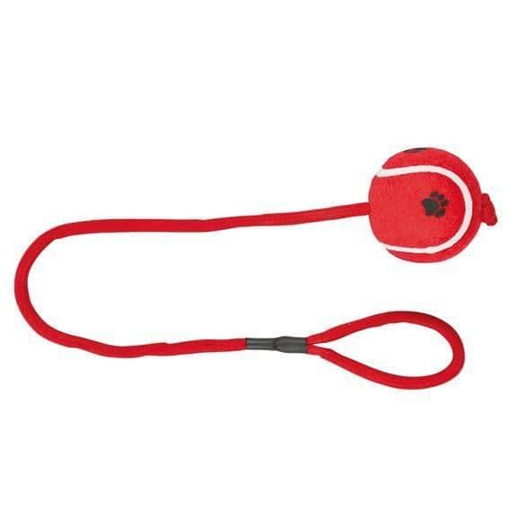 """Игрушка """"Теннисный мяч на веревке"""" для собак, Trixie - 6.5 см"""