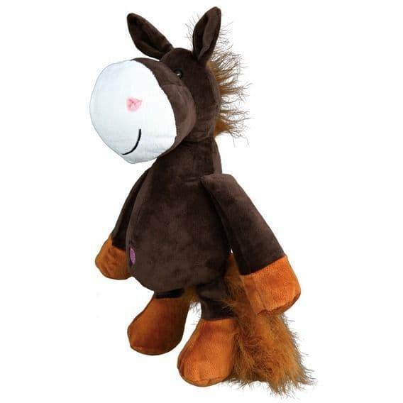 """Игрушка """"Плюшевая лошадь со звуком"""" для собак, Trixie - 32 см"""