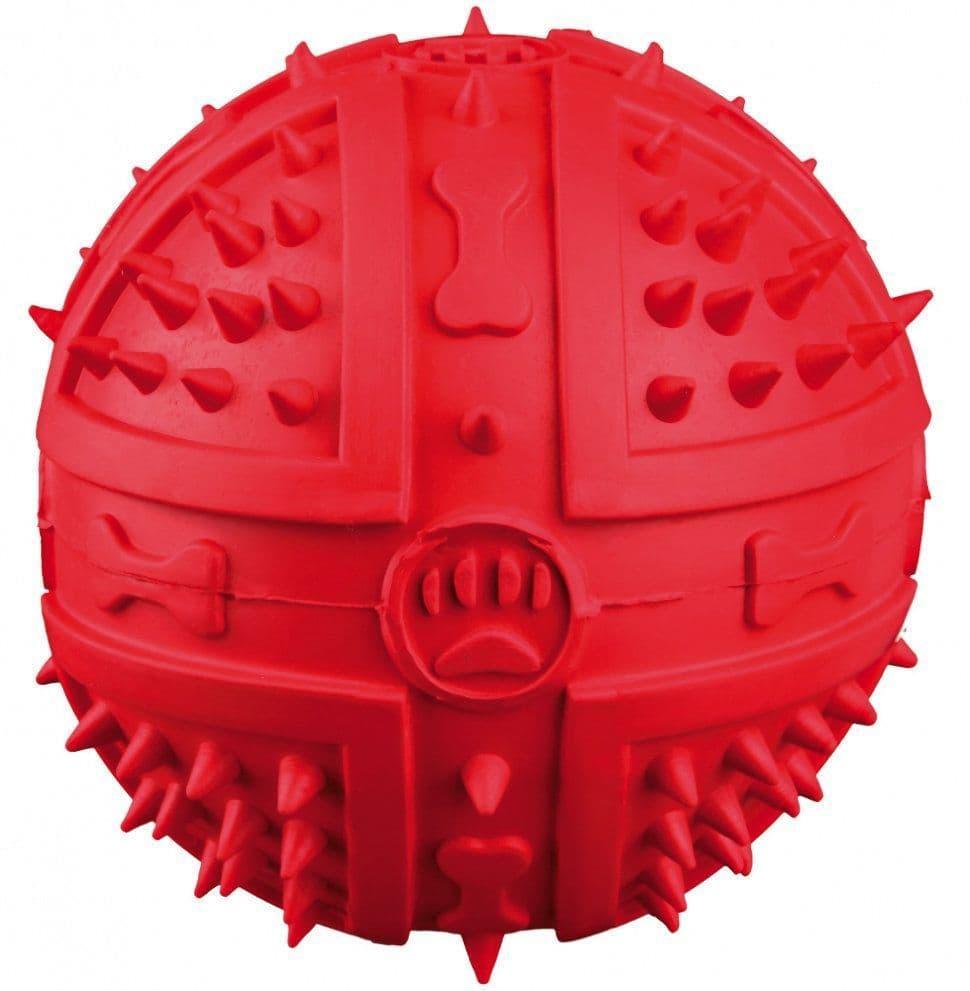 """Игрушка """"Мяч с пищалкой"""" для собак, Trixie - 9 см"""