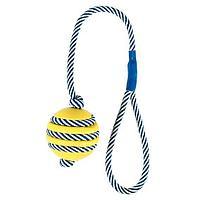"""Игрушка """"Плетенный мяч"""" Denta Fun для десен собак, Trixie - 40 см"""