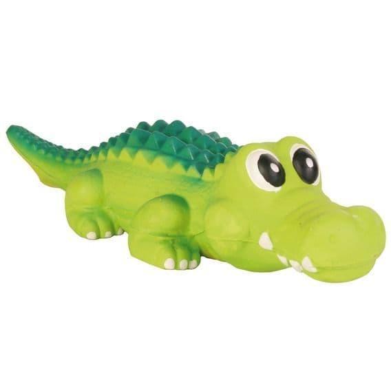 """Игрушка """"Крокодил с пищалкой"""" для собак, Trixie - 35 см"""