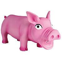 """Игрушка """"Свинка"""" для щенков крупных пород и собакам средних пород, Trixie - 17 см"""