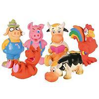 """Игрушка """"Звери-фермеры, с пищалкой"""" для собак, Trixie - 17 см"""