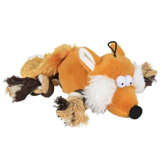 """Игрушка """"Плюшевая лисичка с пищалкой"""" для собак, Trixie - 34 см"""