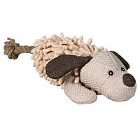 """Игрушка """"Плюшева собака с пищалкой"""" для собак, Trixie - 30 см"""
