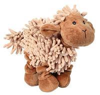 """Игрушка """"Плюшевая овечка с пищалкой"""" для собак, Trixie - 21 см"""