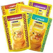 Влажный корм Purina Friskies для кошек - 4+1
