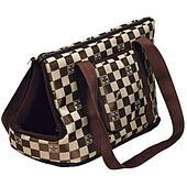 Транспортировочная сумка с креплением и нейлоновой миской - 21х25х45 см