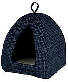 """""""Домик- место для сна """"""""Ferris"""""""" для кошек и мелких пород собак. Цвет: синий; р- р: 32 х 42 х 32 см."""