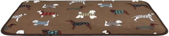 Лежак подстилка для крупных пород собак - 90х68 см