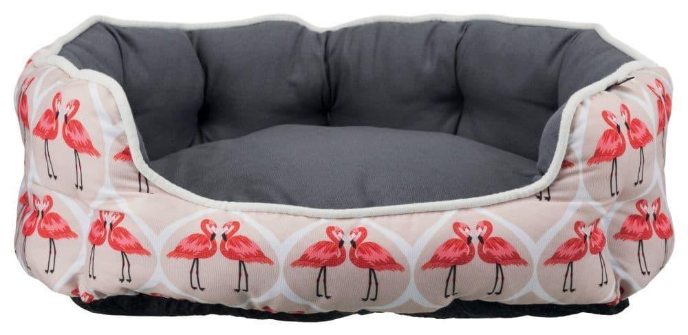 Лежак с бортиком Flamingo
