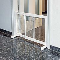 Дверь-перегородка для мелких и средних собак, 65х108 × 61 cм
