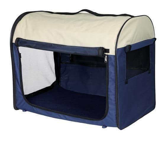 Палатка из полиэстера для выставок и для дома с флисовым дном - 70x75x95 см