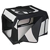 Транспортировочная палатка с металлическим каркасом - 76x48x51 см
