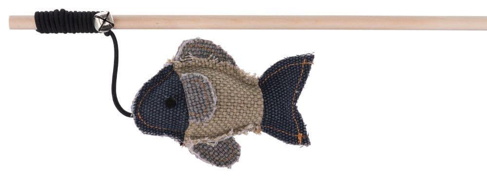 Игрушка для кошек. Удочка с рыбкой