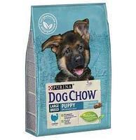 Корм Dog Chow для щенков крупных пород (Индейка) - 14 кг