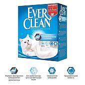 Комкующийся наполнитель Ever Clean Extra Strong Clumping Unscented, без запаха - 10 л