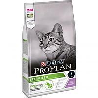 Корм Pro Plan Adult Sterilised для стерилизованных и кастрированных кошек (Индейка) - 1.5 кг