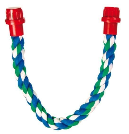Плетеная веревка из чистого хлопка - 66 см - 18 мм