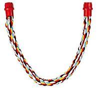 Плетеная веревка из чистого хлопка - 75 см - 30 мм