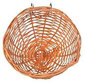 Плетеное гнездо для канареек из бамбука - 10 см