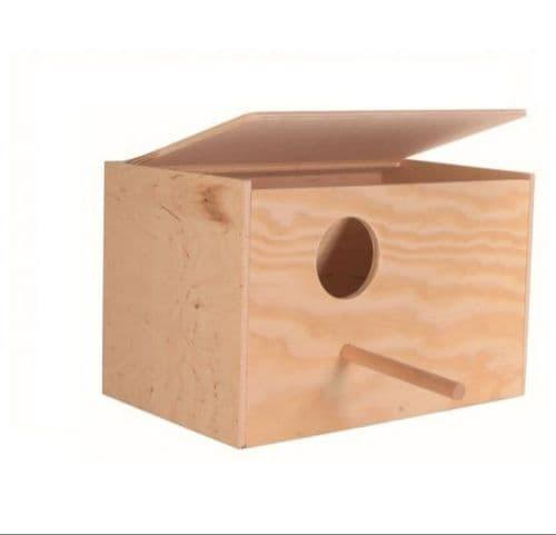 Деревянный домик для птиц - 30х20х20 см