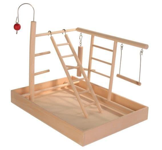 Игровая площадка Trixie для попугаев и канареек - 34х26х25 см