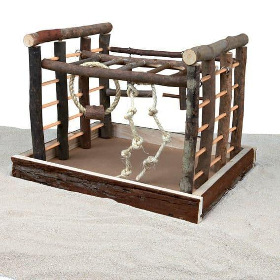 Игровая площадка Trixie для попугаев и канареек - 35х29х25 см