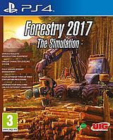 Forestry 2017 the simulation PS4, фото 1