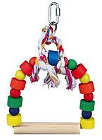 Игрушка Качели Trixie для птиц, деревянные - 13х19 см