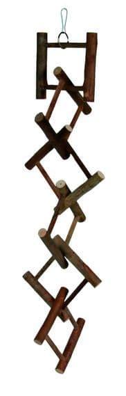 Игрушка Лестница Trixie для попугаев и канареек, деревянная - 58 см