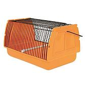 Транспортировочный бокс для птиц и мелких животных со съемной жердочкой - 30х18х20 см