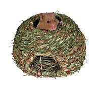 Травяной домик для хомяков и мышей - 16 см