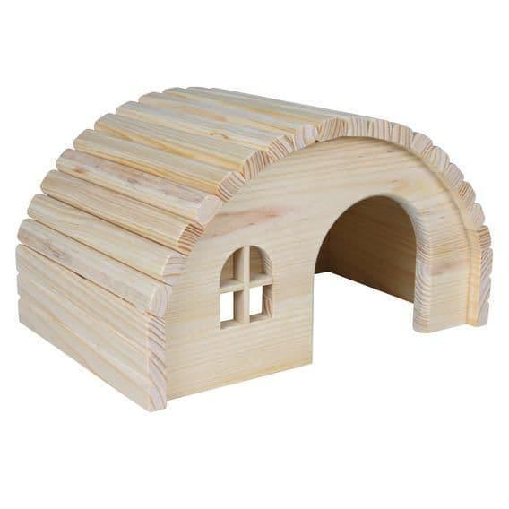 Домик деревянный для кролика -  42×20×25 см