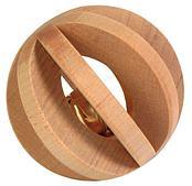 Игрушка деревяный мячик - 6 см