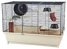 Клетка для грызунов с основным оборудованием