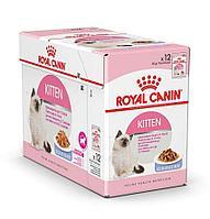 Корм Royal Canin Instinctive Kitten для котят от 4 до 12 месяцев (Кусочки в желе) - 12 х 85 г