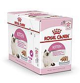 Корм Royal Canin Instinctive Kitten для котят от 4 до 12 месяцев (Паштет) - 12 х 85 г