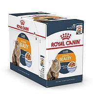 Корм Royal Canin Intense Beauty для красоты и здоровья шерсти кошек (в Желе) - 12 х 85 г
