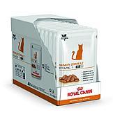 Влажный корм Royal Canin Senior/St 1, для кошек старше 7 лет - 12 x 85 г