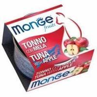 Консервы Monge для взрослых кошек (Тунец с яблоком) - 80 г