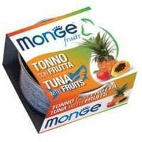 Консервы Monge для взрослых кошек (Тунец и фрукты) - 80 г