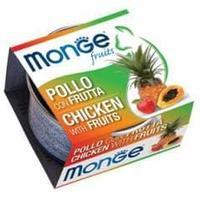 Консервы Monge для взрослых кошек (Курица и фрукты) - 80 г
