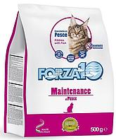 Корм Forza10 Maintenance для взрослых кошек (Рыба) - 500 г