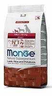 Корм гипоаллергенный Monge Mini Adult для взрослых собак мелких пород (Ягненок) - 800 г