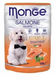 Корм Monge Grill для собак (Лосось) - 100 г