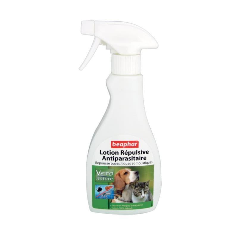 Спрей Nature Lotion от блох, комаров и клещей для собак и кошек, щенков, Baphar - 250 мл