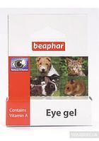 Гель Eye Gel для ухода за глазами кошек, собак и грызунов, с витамином А, Beaphar - 5 мл