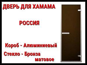 Дверь матовая для турецкой бани (хаммам) Россия
