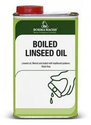 Масло льняное кипяченое Borma Boiled Linseed Oil 1 л